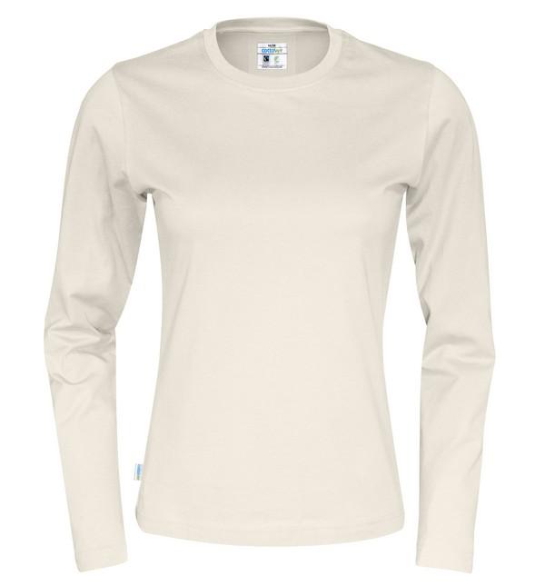 T-shirt LÄ Cottover Dam Färgad