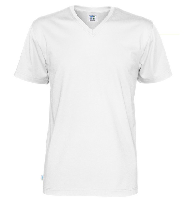 T-shirt V-neck Cottover Herr V-S