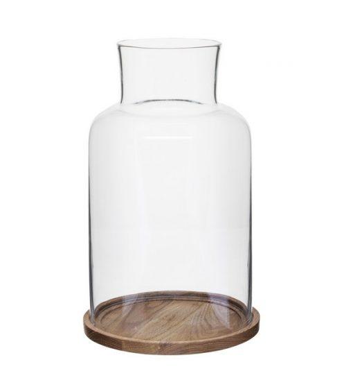 Ljuslykta Oval Oak Liten 1