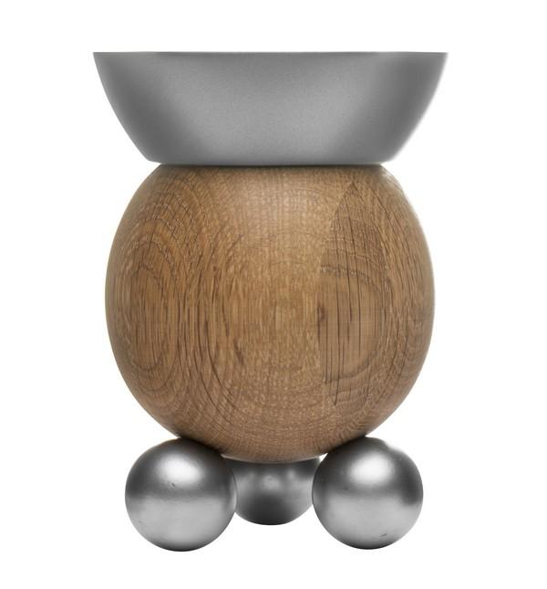 Ljusstake Oval Oak